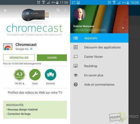 Tutoriel Chromecast : comment l'installer et le configurer | Enseigner avec Android | Scoop.it