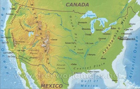 united-states-map-physical.jpg (1200x764 pixels)   PERSIA North America   Scoop.it
