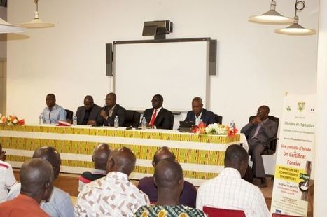 Foncier rural : le gouvernement ivoirien signe un protocole d'accord avec la société Mémoris | Questions de développement ... | Scoop.it