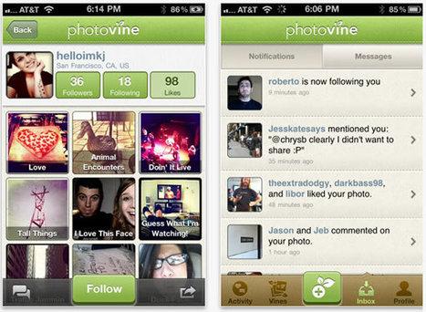 Google publie Photovine, son application iPhone de partage de photos | toute l'info sur Google | Scoop.it