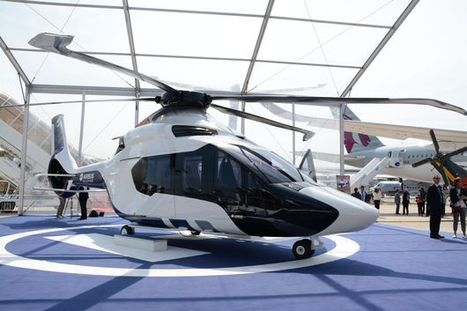 Airbus Helicopters: Le H160 présenté aux salariés d'Airbus à Marignane | Veille de l'industrie aéronautique et spatiale - Salon du Bourget | Scoop.it