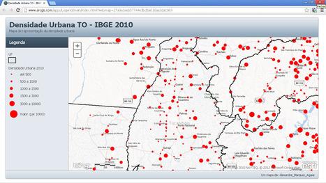 ArcGIS Online | Densidade Urbana IBGE 2010 | Geoflorestas | Scoop.it
