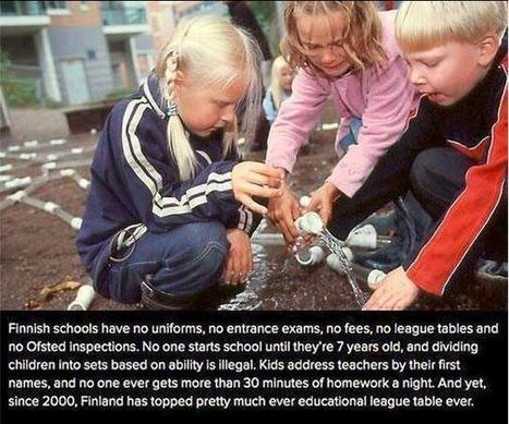 Twitter / Fascinatingpics: Education System in Finland. ... | Finland | Scoop.it