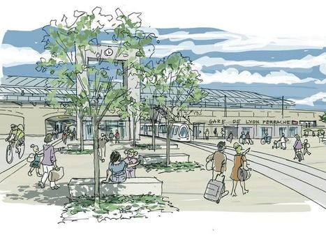 Lyon : la gare Perrache s'offre une remise à neuf | Logistique et mobilité des biens et des personnes en Auvergne-Rhône-Alpes | Scoop.it