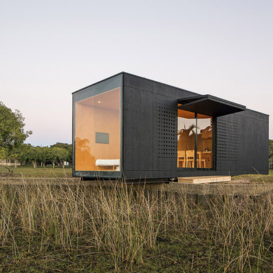 Prefabricated modular home delivered into the Brazilian countryside | Green Living | Scoop.it