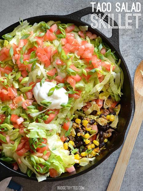 Taco Salad Skillet - blogs de Recipes | ♨ Family & Food ♨ | Scoop.it