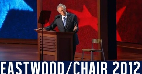 Watch Clint Eastwood Talking to a Chair [VIDEO]   Clint Eastwood   Scoop.it