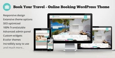 Book Your Travel v3.8 Online Booking WordPress Theme | Download Full Nulled Scripts | Download Free Nulled WP Themes & Plugins | Scoop.it