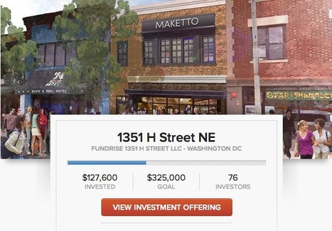 Fundrise, crowdfunding for real estate, off to nice start | Buzz on Bizz | Scoop.it