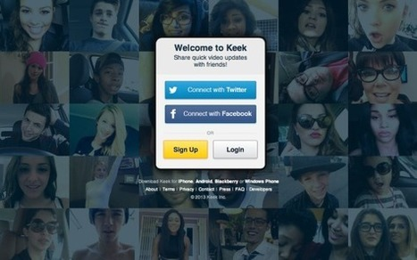 Video-based social network Keek hits 58M users, raising $100M to challenge Instagram, Vine | Software People and Telco | Scoop.it