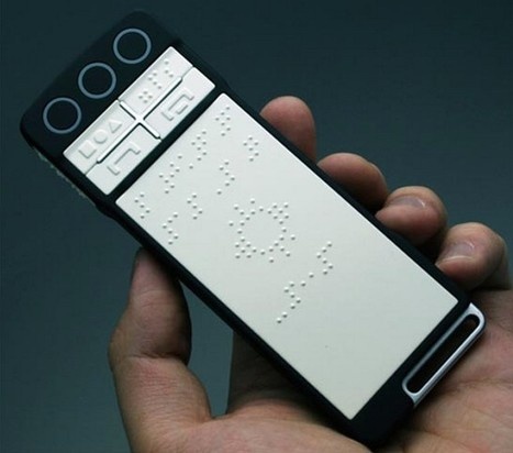 Braille smartphone to revolutionise life on the go for the blind - West | Differently Abled and Our Glorious Gadgets | Scoop.it