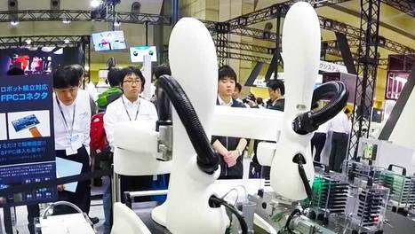 #iREX2015 collaborative robots video roundup | Robots and Robotics | Scoop.it