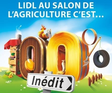 10 exemples de marques qui animent le Salon International de l'Agriculture | Marketing tendances agro-alimentaire | Scoop.it