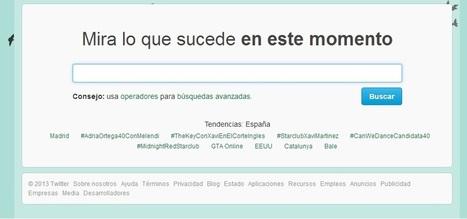 El buscador de Twitter | E-Nuvole Social Media y Gestión Documental | Social Media | Scoop.it