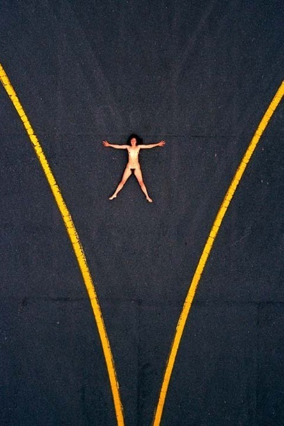 Aerial Nudes Photographed by John Crawford | Awesome Photographies | Scoop.it