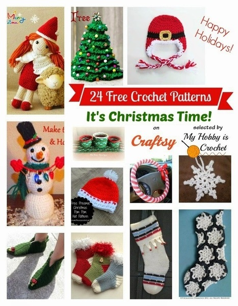 My Hobby Is Crochet: 24 Christmas Themed FREE Crochet Patterns on Craftsy compiled by My Hobby is Crochet | Blogging tips | Scoop.it