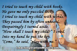 Schools of Thought  Saturday Morning Something to Think About ---> Born to Learn | Schools of Thought NY | Scoop.it