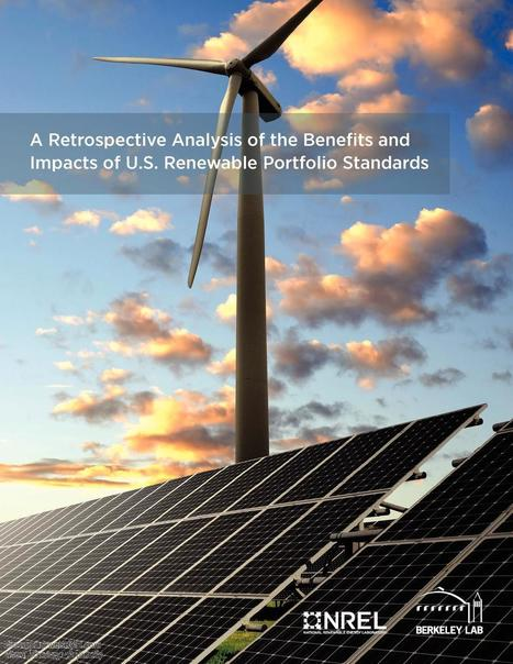 State Renewable Portfolio Standards - Benefits and Impacts, Energy | wesrch | Scoop.it