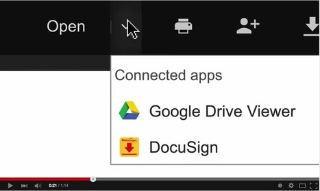 Two Powerful Google Drive Tools for Signing Your Docs and PDFs ~ Educational Technology and Mobile Learning | Google in Libraries and Education | Scoop.it