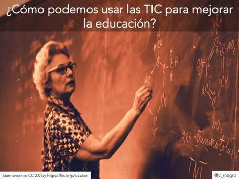 Educación y tecnología: ¿mucho que ganar?, ¿algo que perder? | Educacion, ecologia y TIC | Scoop.it