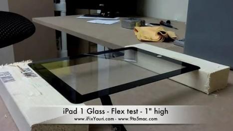Plutôt flexible l'écran de l'iPad 2 | Le Journal du Mac | L'iPad 2 arrive... | Scoop.it