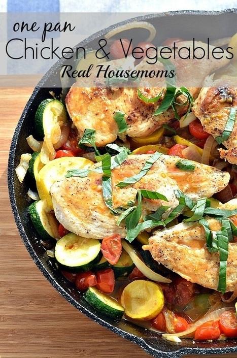 One Pan Chicken & Vegetables | Entertainment | Scoop.it
