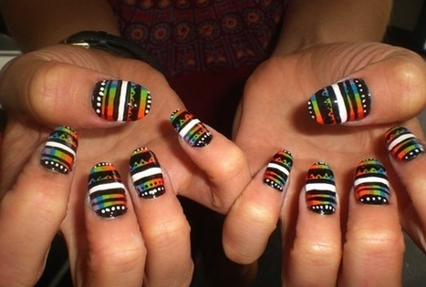 10 Crazy Nail Designs | Fashion and Beauty | Scoop.it