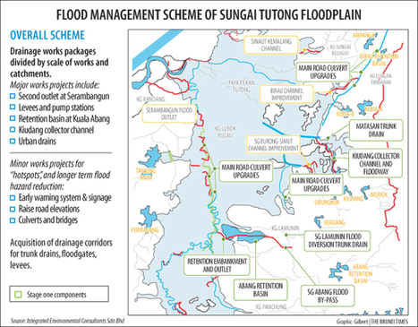 Tutong project to ease floods impact | IB Part 2: Freshwater - issues and conflicts | Scoop.it