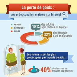 Infographie : La perte de poids, une préoccupation sur Internet | Planète Paléo | Scoop.it