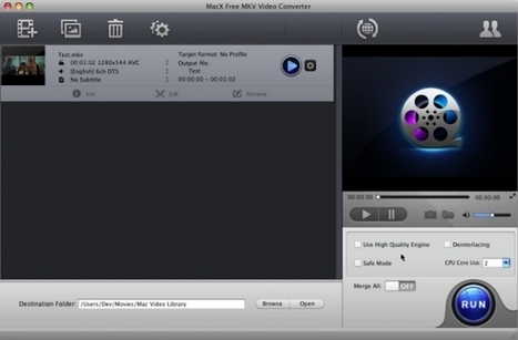 MacX free MKV Video Converter (Mac) - Convertitore gratuito di ... | programmigratis | Scoop.it