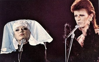 David Bowie Sings 'I Got You Babe' with Marianne Faithfull in His Last Performance As Ziggy Stardust | Placing Creativity | Scoop.it