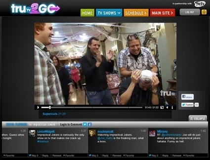 TruTV Syncs Social Chatter With TV Everywhere | SocialTVNews | Scoop.it