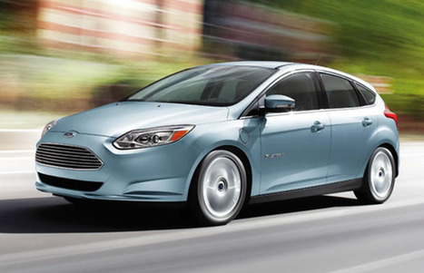 Ford Focus Electric — Gallery: 10 Cool Electric Cars | Complex | Electric Car Pictures | Scoop.it