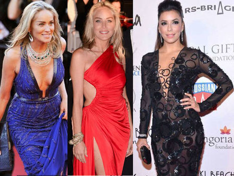 Most Revealing Gowns At Cannes 2013   CHICS & FASHION   Scoop.it