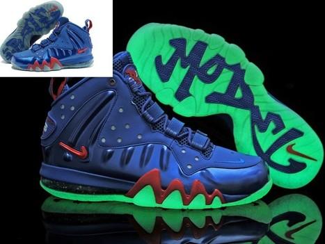 Nike Barkley Posite Max Shoes Glow In The Dark Blue Hot Sale Online   Cheap Glow In The Dark Adidas Online   Scoop.it