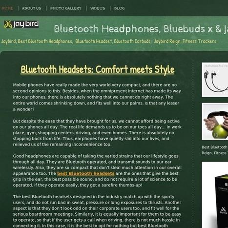 jaybirdsbluetooth   Best Bluetooth Headphones & Bluetooth Headset   Scoop.it