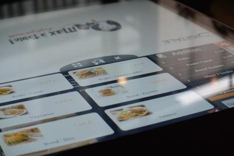 Lancement du premier restaurant connecté en France | Numerique - Objets connectés - Innovation | Scoop.it
