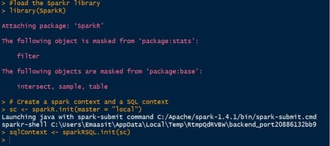 Installing and Starting SparkR Locally on Windows OS and RStudio | EEDSP | Scoop.it