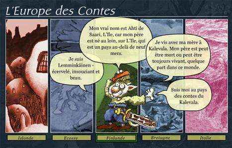 L'Europe des Contes | Remue-méninges FLE | Scoop.it