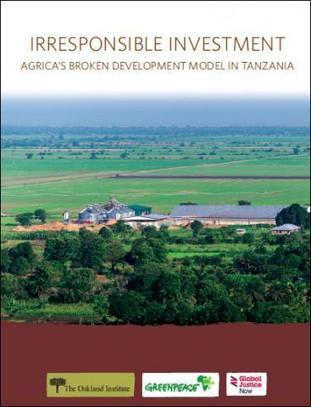 Irresponsible Investment: Agrica's Broken Development Model in Tanzania | Questions de développement ... | Scoop.it