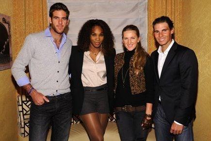 Photos : Nadal, Del Potro, Azarenka et Williams font la fête à New York | PK Tennis News | Scoop.it