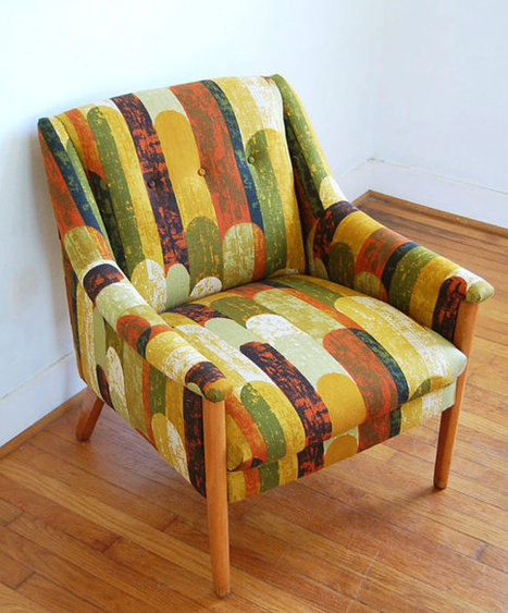 Mid Century Modern Arm Chair | All things Fashion Print | Scoop.it