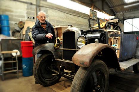 Perche. Son grand défi à 94 ans : faire revivre une voiture de 1929 | Le Mag ornais.fr | Scoop.it
