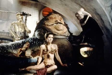 Leia est devenue Jabba | Mais n'importe quoi ! | Scoop.it
