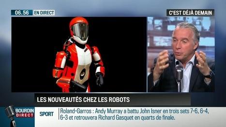 La chronique de Frédéric Simottel: Quand les robots deviennent nos assistants personnels - 30/05 | Post-Sapiens, les êtres technologiques | Scoop.it