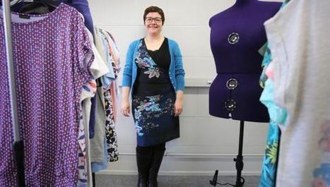 Lille : elle crée des fringues tendance pour les jeunes femmes rondes - La Voix du Nord | La mode intelligente | Scoop.it