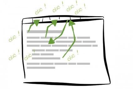 Mieux qu'une barre d'édition : des raccourcis clavier | Ergonomie IHM, Interaction design, UX | Scoop.it