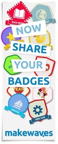 Makebadges - the badge design tool for schools - by Makewaves | clefs à mon net | Scoop.it