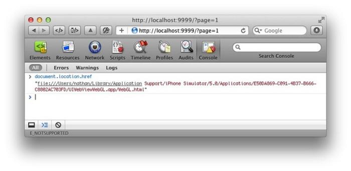 Enabling Remote Debugging via Private APIs in Mobile Safari - Nathan de Vries | iPhone and iPad development | Scoop.it