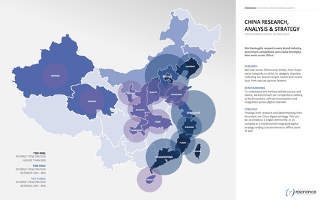 Tier 1 cities fastest adopters of high-speed internet access. | China Digital | Scoop.it